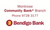 Mt Evelyn & Districts Community Bank ® Branch Bendigo Bank